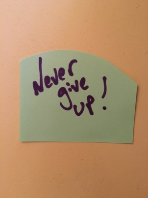 never give up_2